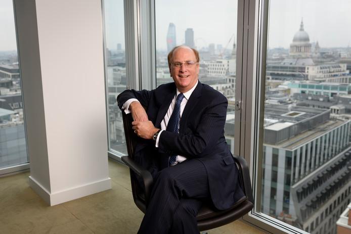 Larry Fink , directeur van 's werelds grootste vermogensbeheerder BlackRock