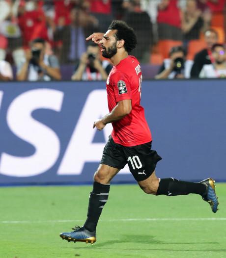 Hoofdrol voor Salah bij moeizame zege Egypte