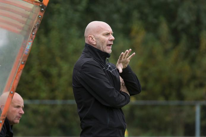 Leones-coach Wil Beijer. foto Bart Harmsen