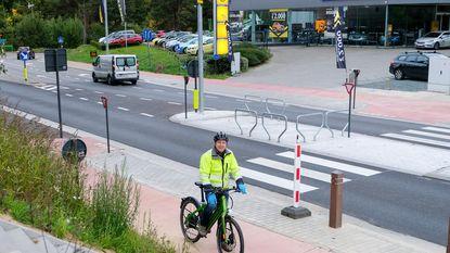 Koning Auto maakt plaats voor fiets