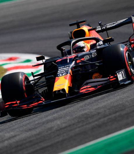 Verstappen komt niet verder dan vijfde tijd na crash, Mercedes direct dominant