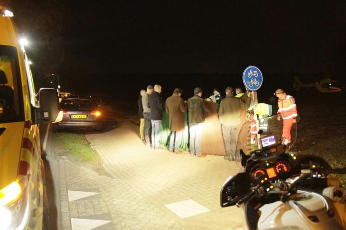 Jonge vrouw zwaargewond gevonden op Mierloseweg in Lierop.