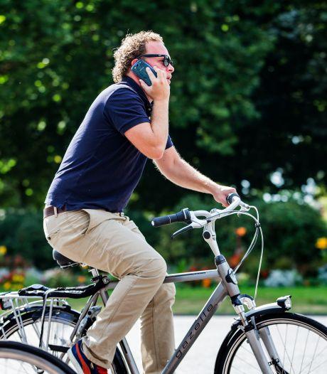 Elke dag zo'n 13 appende fietsers beboet in Oost-Nederland: 'Verslaving moeilijk te bestrijden'