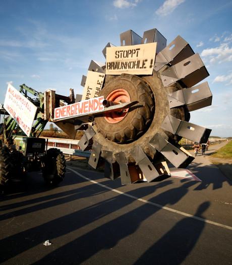 Medewerkers Duitse energiereus RWE blokkeren toegang tot mijnen