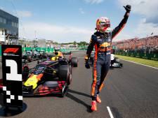 Fotoserie | De Nederlandse feestvreugde in Hongarije na de pole position van Verstappen