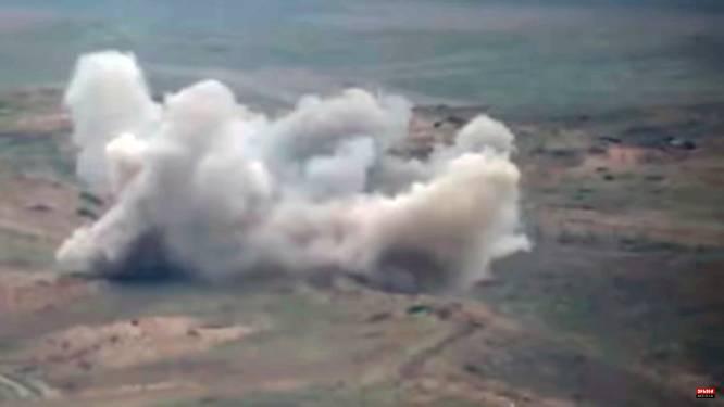 Erdogan ontkent dat Armeens gevechtsvliegtuig door Turkse F-16 is neergeschoten