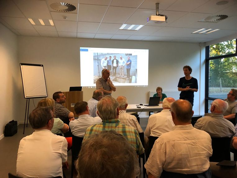Zo'n 40 geïnteresseerden op info- en brainstormavond rond Wevelgemse bunker