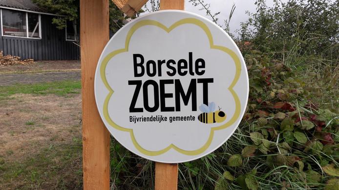 De actie van Borsele is in lijn met Nederland Zoemt, een landelijk project dat in actie komt voor de wilde bij.