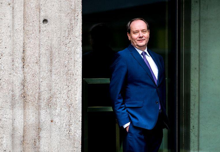 Hans Vijlbrief wordt staatssecretaris van Financiën. Beeld null