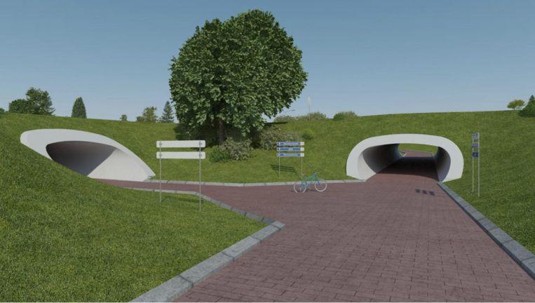 Fietstunnel Aalst