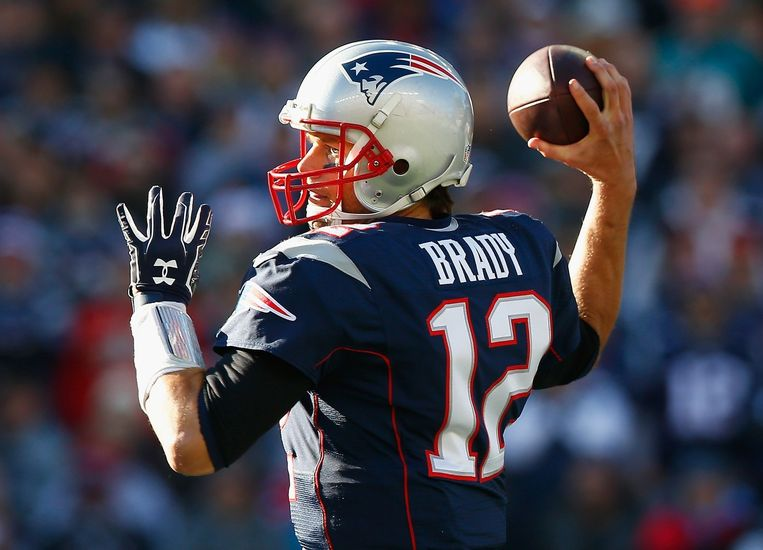 Tom Brady. Beeld afp