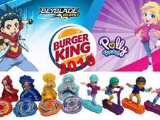 Burger King stopt met plastic speeltjes in Engeland na actie Ella (9) en Caitlin (7)