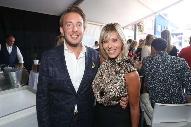 Hanne Troonbeeckx en partner Steffen