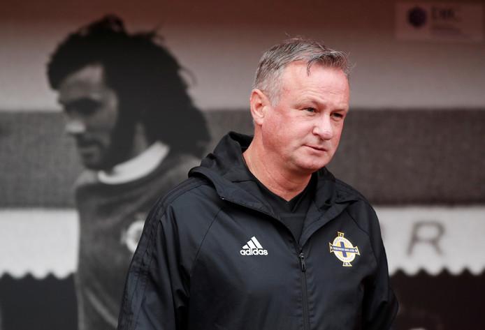 Michael O'Neill, sinds 2011 de bondscoach van Noord-Ierland.