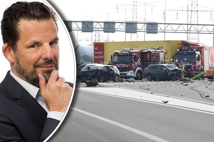 Columnist Jerry Goossens schrijft over het tragische ongeval op de A2 bij Breukelen.