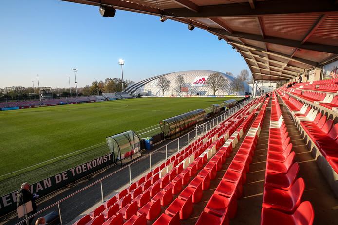 De Toekomst, het complex van Jong Ajax waar FC Twente vrijdag kampioen kan worden.