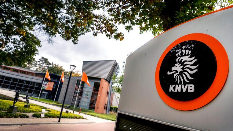 Het bondsbureau van de KNVB Campus in Zeist. Beeld ANP