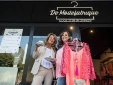 De Modefabrique van Sharon: Shoppende dames en lunchende mannen onder een dak
