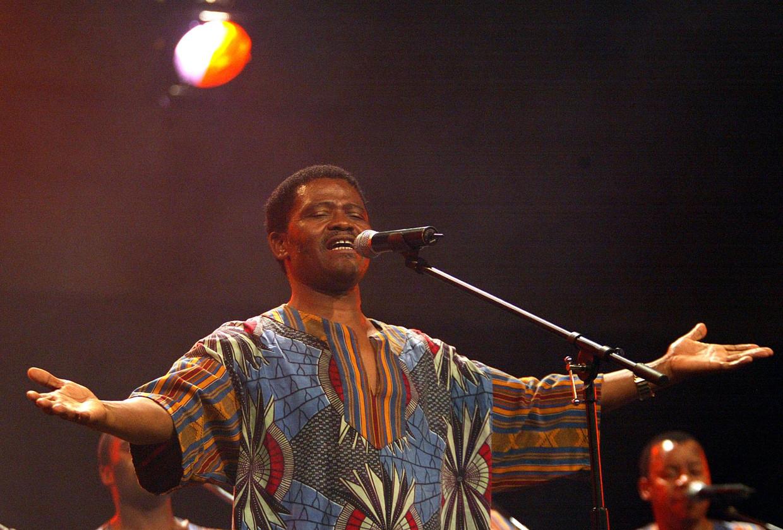 Joseph Shabalala in 2002 in Johannesburg.