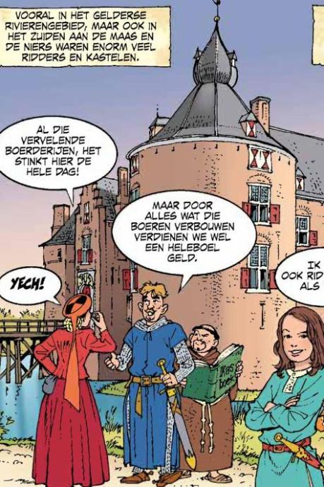Ridders, vorsten en de Hanze: 'fascinerende geschiedenis' van Gelderland verschijnt in stripvorm