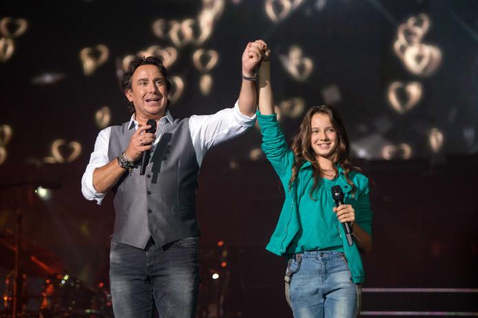 Marco met zijn dochter, in 2014 in de Ziggo Dome