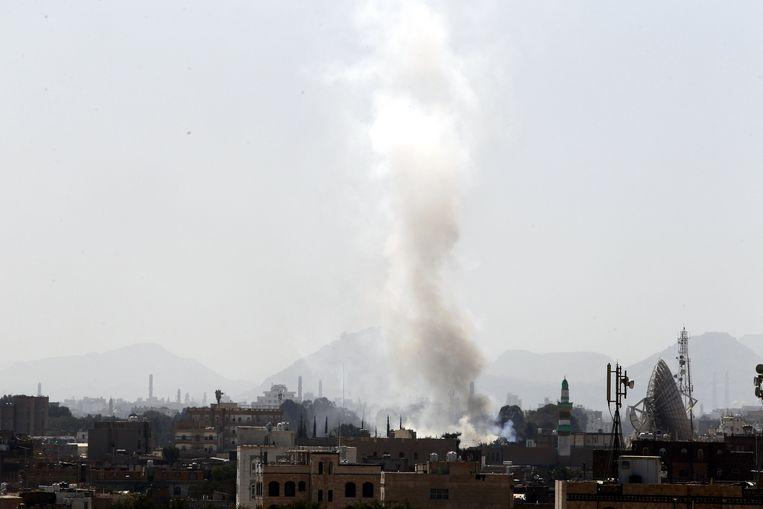 Archieffoto. De Amerikaanse minister van Buitenlandse Zaken Mike Pompeo zei woensdag nog dat hij wil dat er een einde komt aan het geweld in Jemen.