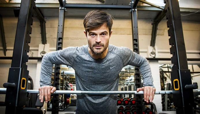 Arie Boomsma in zijn sportschool