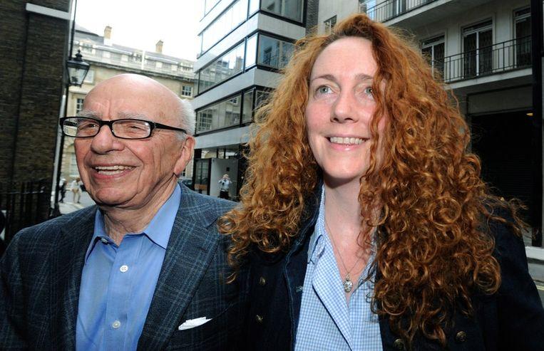 Murdoch en Brooks Beeld epa