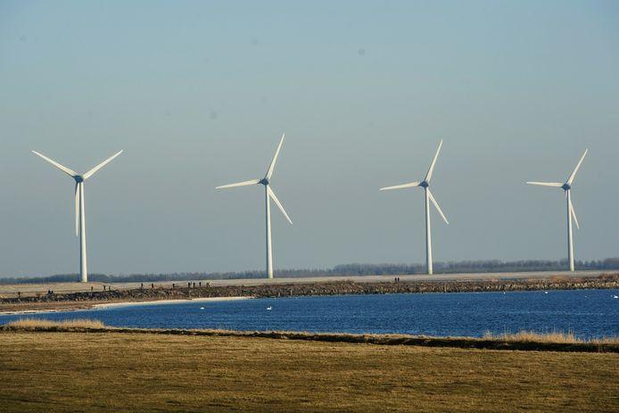 De polder tussen Lith, Rosmalen en Geffen kan ruimte bieden aan het grootste windmolenpark van Nederland.