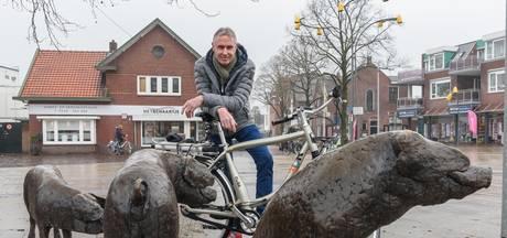 Oud-profrenner Theo de Rooij fietsburgemeester van Holten