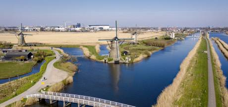 Werelderfgoed Kinderdijk is nog niet 'coronaproof' en gaat pas later weer open