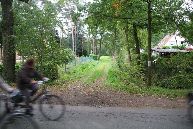 De Stadhouderboschwegel in Belsele, één van de trage wegen in Sint-Niklaas.