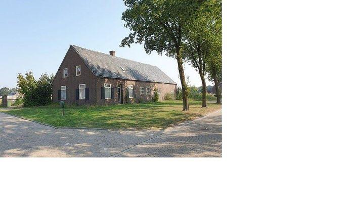 De boerderij aan de Wilhelminaweg in Mariahout