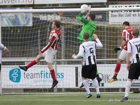 Uitslagen en doelpuntenmakers amateurvoetbal zaterdag