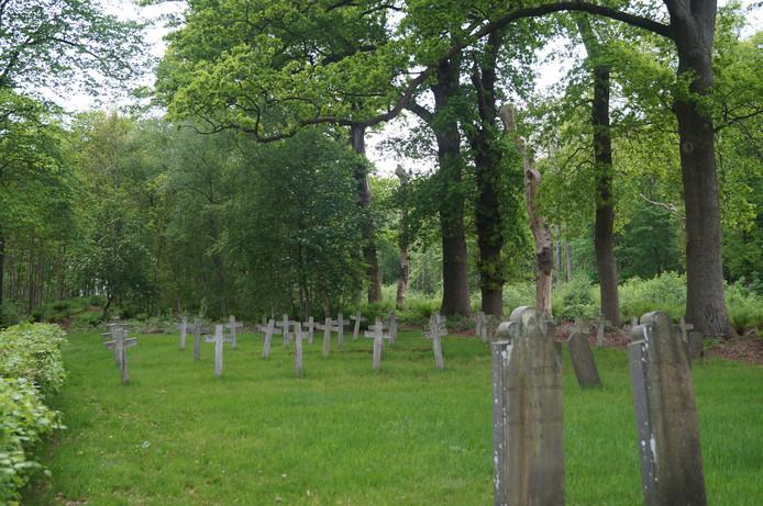 De begraafplaats van de Ommerschans, onderdeel van de Koloniën van de Weldadigheid, geeft een indruk van de historie.
