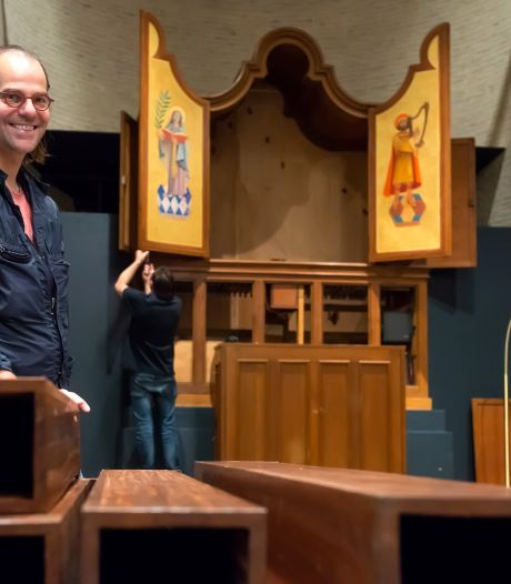 Monnikenklus in kapel Kunstacademie: 'lief orgeltje' krijgt oude glorie terug