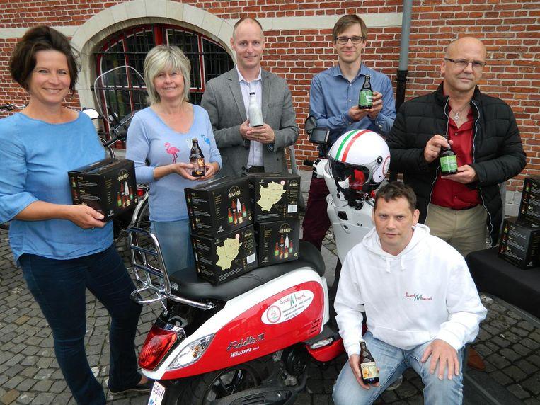 De Meetjeslandse Bierbox werd gisteren in Eeklo voorgesteld.