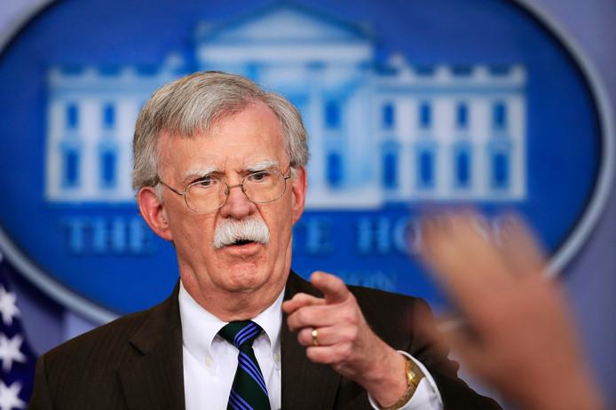 Nationaal veiligheidsadviseur John Bolton