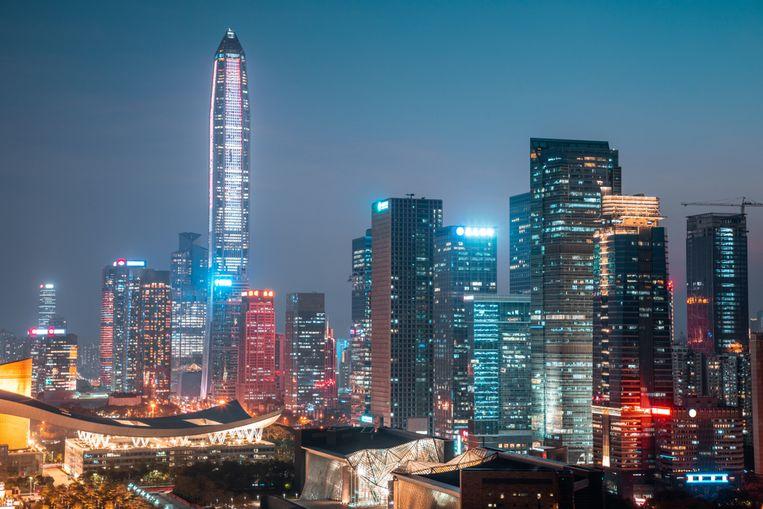 Shenzhen kreeg er in 2019 vijftien gebouwen bij die hoger zijn dan 200 meter.