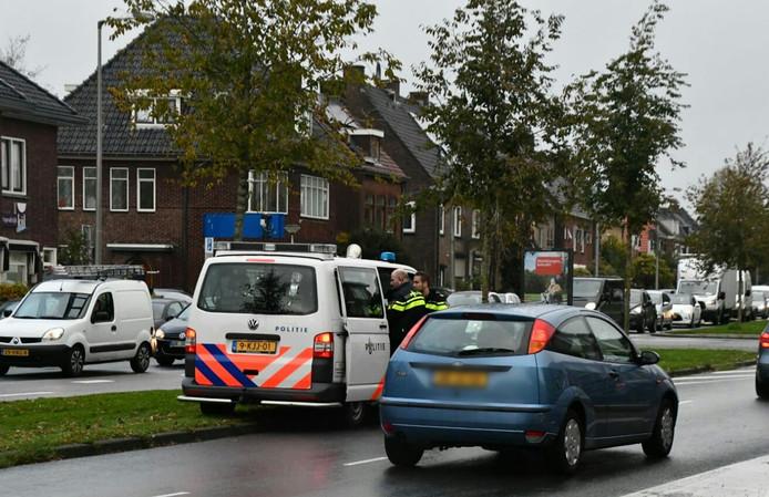 De politie hield dinsdag na de kloppartij minstens één persoon aan.