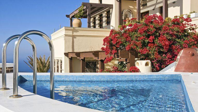 Een luxe villa Beeld Thinkstock