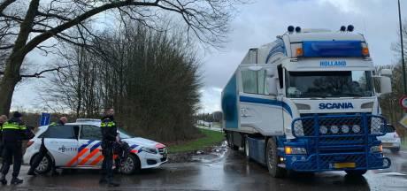Truck aan de kant gezet in Boxtel: persoon aangehouden na conflict