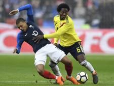 Frankrijk laat zich verrassen door Colombia