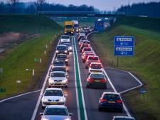 Rijkswaterstaat: bredere N50 bij Kampen een jaar later