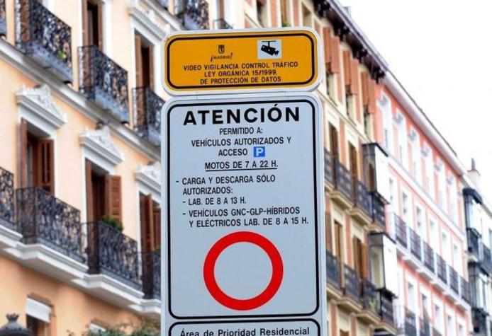 Lage emissiezone in Spanje