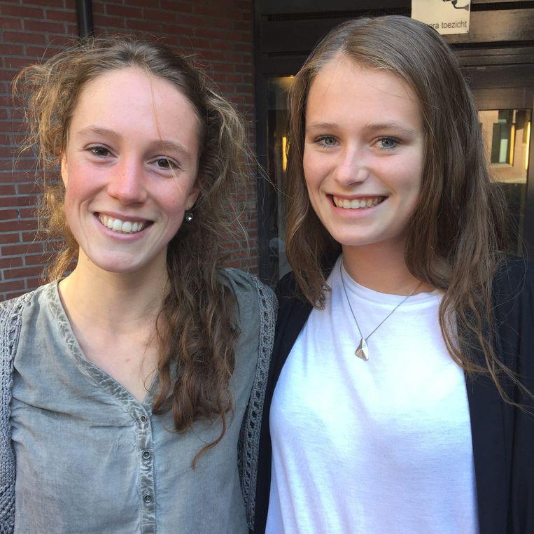 Lotte van den Bosch en Charlotte de Beus. Beeld