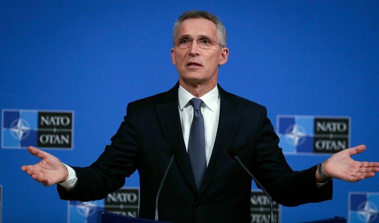 NAVO-secetaris-generaal Jens Stoltenberg.