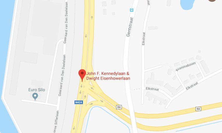 Onder meer dit kruispunt, waar de R4 op de Kennedylaan aansluit, wordt volgend jaar al aangepakt