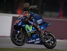 Viñales op basis van tijd in training naar pole in nat Qatar