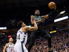Bucks trekt stand in play-offs weer gelijk na winst op Celtics